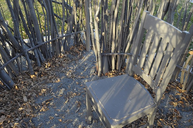 Middle of Nowhere (detail: chair)