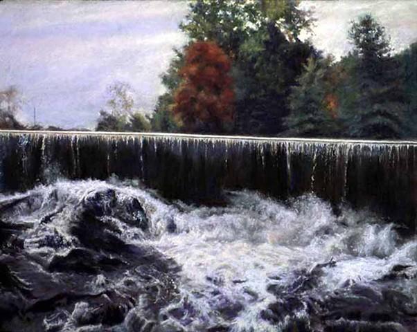 Waterfall-Dualities