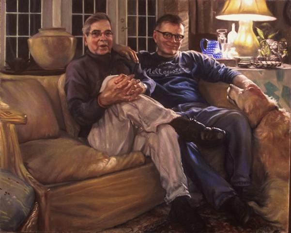 Richard and Kuhn At Home