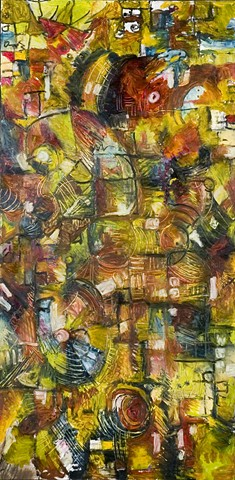 Color, abstract, time, chaos
