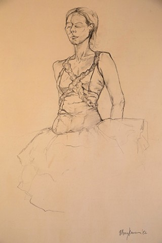 "Water Kerner ""Ballerina"" (life drawing)"
