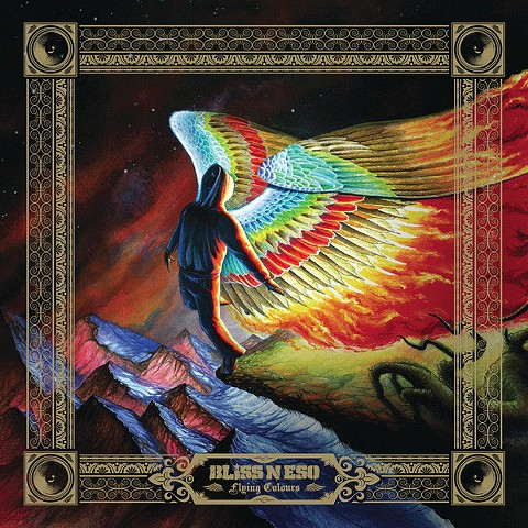 Bliss n' Eso 'Flying Colours' Album artwork 2009