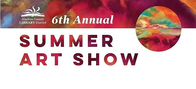ALACHUA COUNTY LIBRARY DISTRICT SUMMER ART SHOW