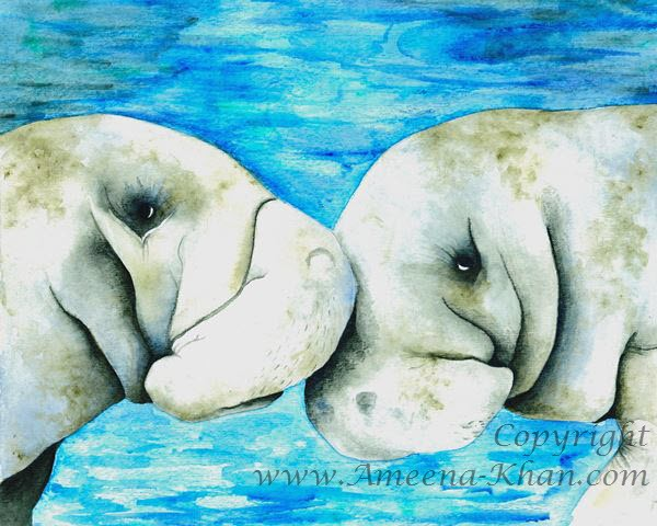 Manatee Kisses