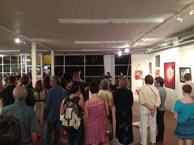 """Art in the Modern World"", a juried exhibition at the Doris"
