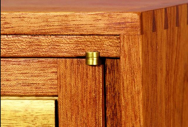 Acacia Cabinet (Detail)