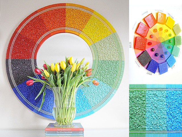 The Colour Wheel Mirror