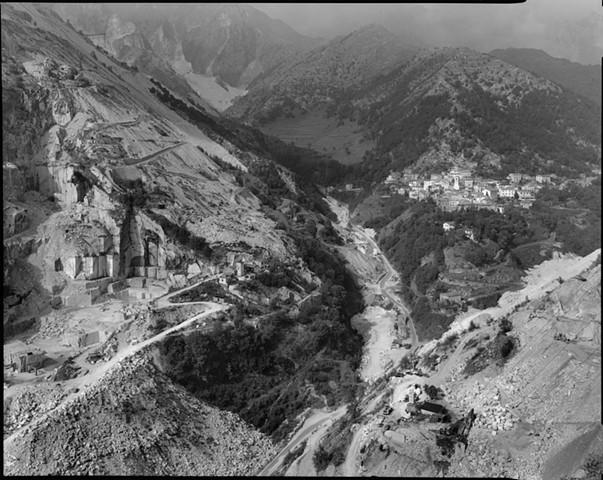 View of Colonnata, 1987