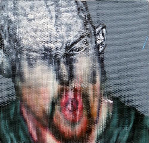 James Lassen, painting, portrait