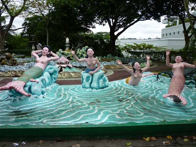 Haw Par Villa, Tiger Balm, Aw Brothers, Confusious, Monkey King