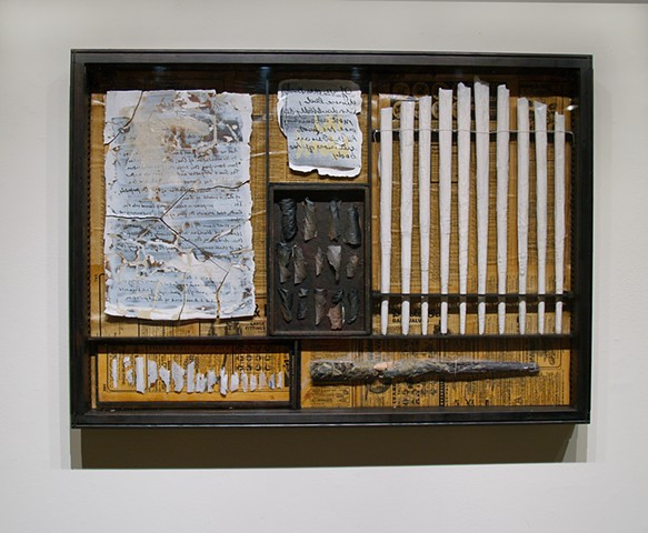 Bookworks - Mixed media installation by Janet Williams