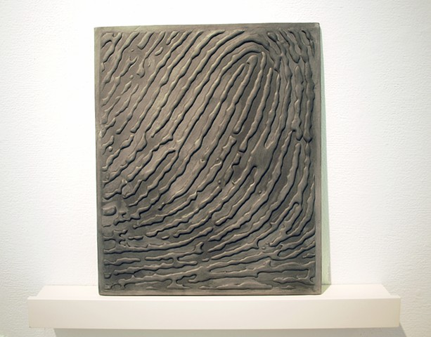 Porcelain fingerprint by Janet Williams
