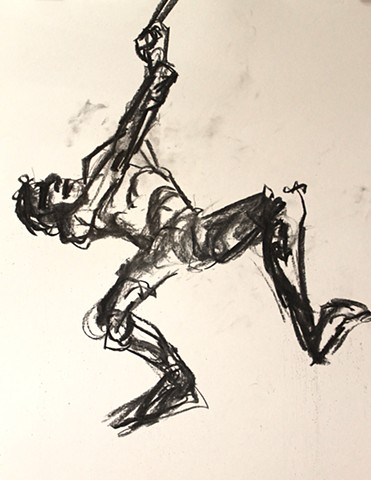 Life Drawing 5 min sketch