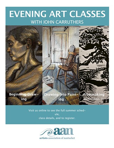 art classes John Carruthers teaches