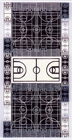 Abstraction professional basketball