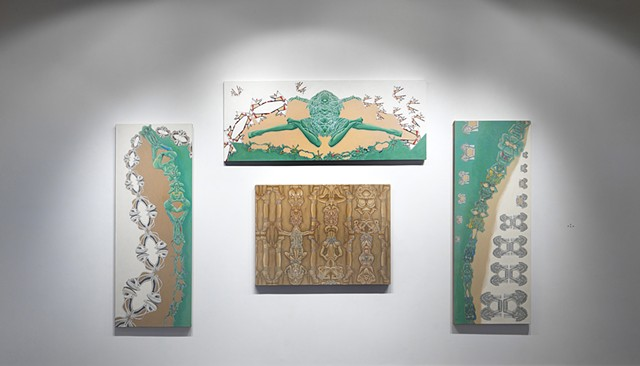 fashion imagery as temple frieze iconography