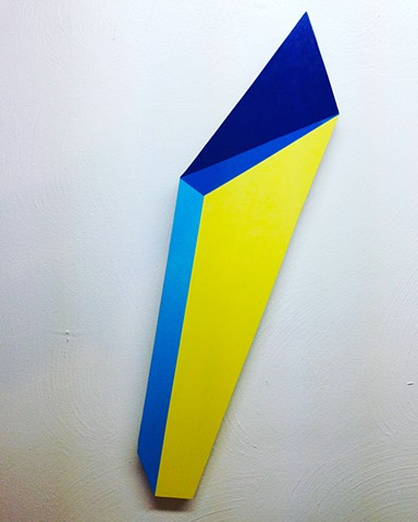 Untitled Shape ( Blue and Yellow)