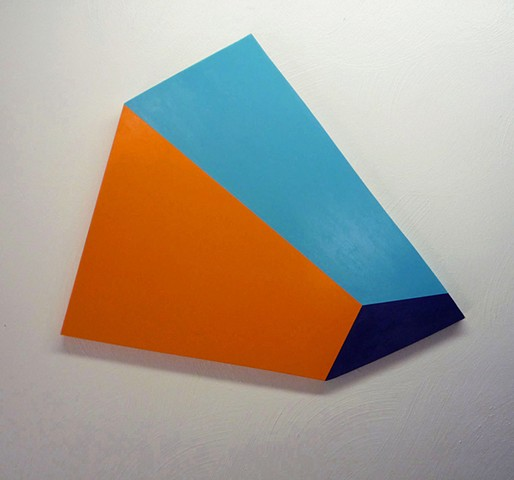 Untitled Tri-color Shape (a)