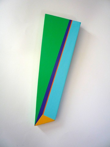 Untitled Shape (Green, Blue and Orange)