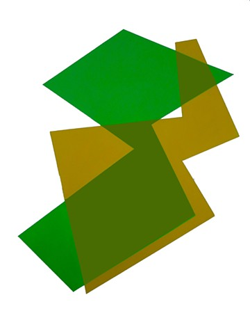 Color/Shape Study (Green/Orche)