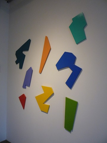 Variety of Shapes on the wall