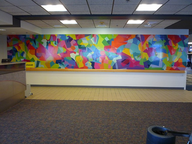 Pittsburgh Airport Mural