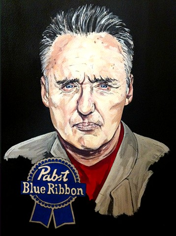 Pabst Blue Ribbon Dennis Hopper