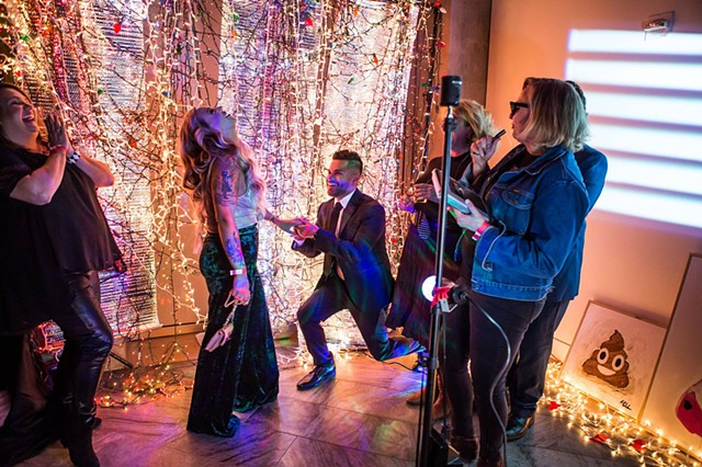 The All-Inclusive Show at Crystal Bridges on New Year's Eve