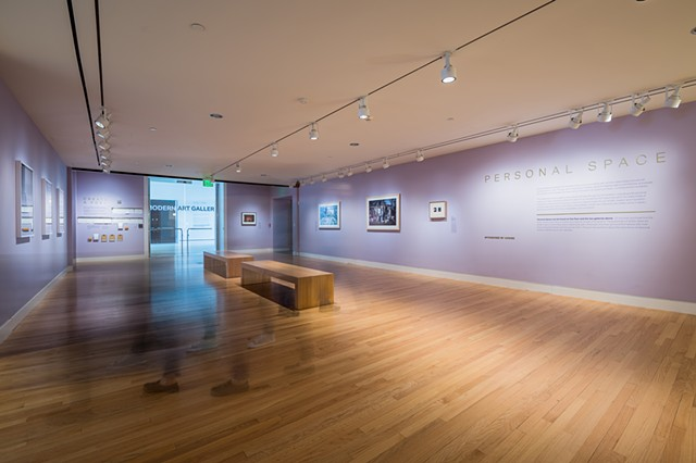 """Installation view, Personal Space, Crystal Bridges Museum of American Art, October 2018-March 2019. Image courtesy of Crystal Bridges Museum of American Art. Photography by Stephen Ironside."""