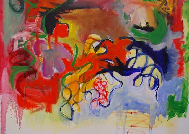 garden, mist, memory (detail 2)
