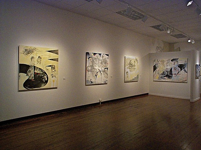 """Glamour Wood"" a solo exhibition at the HSU First Street Gallery, 2003."