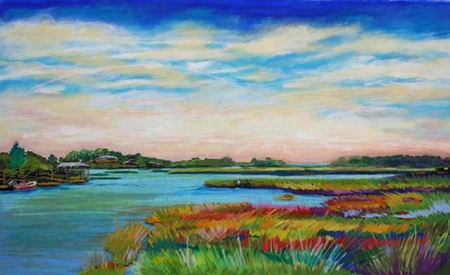 Cedar Key Florida saltmarsh