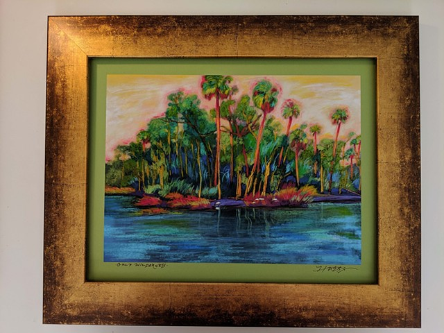 Gulf Wilderness framed