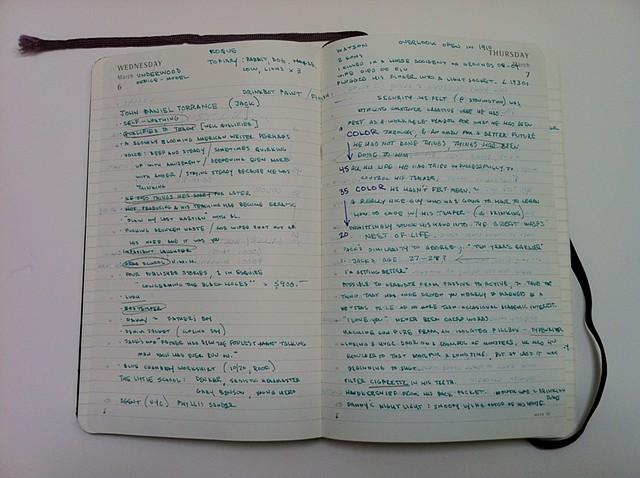 Diary Notes 1/5