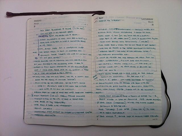 Diary Notes 2/5
