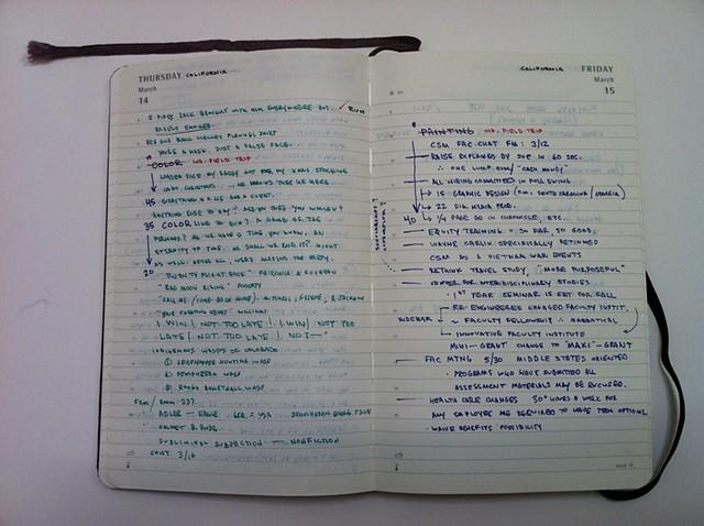 Diary Notes 5/5