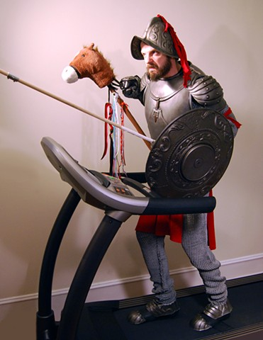 Self Portrait as Don Quixote
