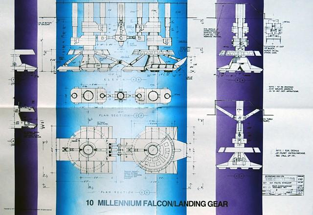 Millennium Falcon Landing Gear