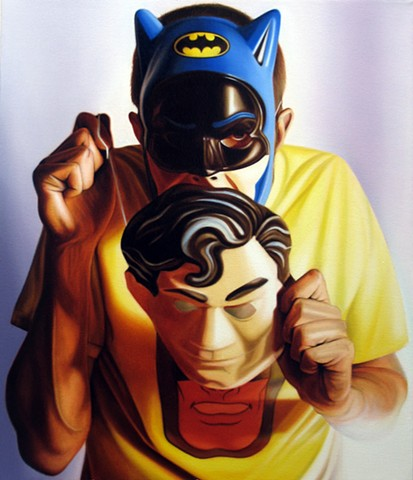 Self Portrait as Batman as Bruce Wayne