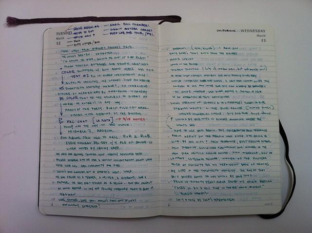 Diary Notes 4/5
