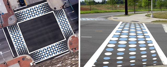 UNC Chapel Hill Crosswalk Design