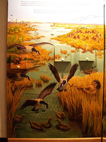 Effie Yeaw Nature Center, Wetlands Exhibit