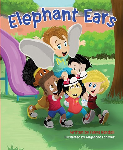 Elephant, ears, bullying, School, friendship, children, animals, stories