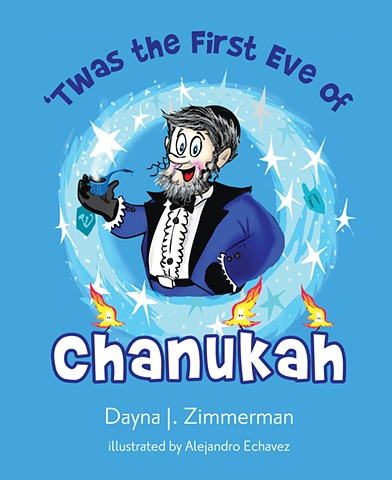 #Children's book, #holiday #kids #colorful #Chanukah