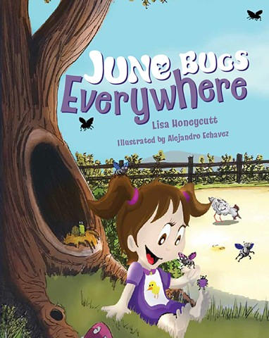 #Colorful, #children's book #farm #junebugs #kids