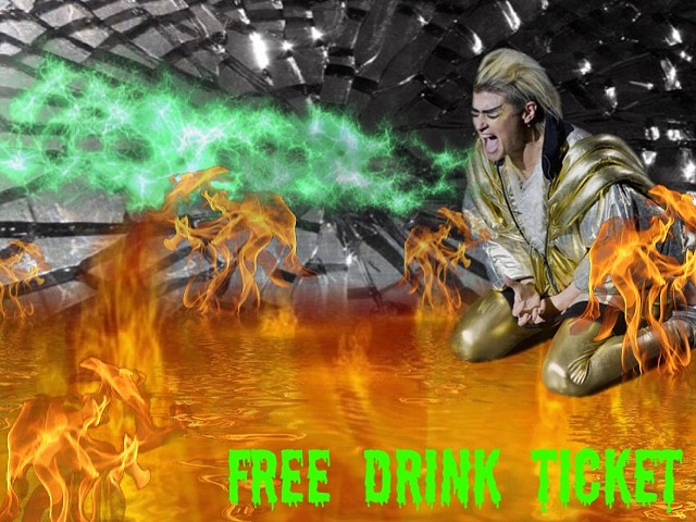 Free Drink Ticket
