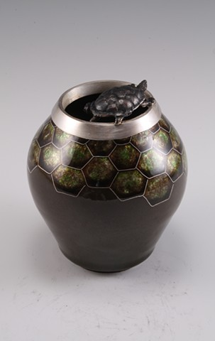 Painted Turtle Vessel (a)