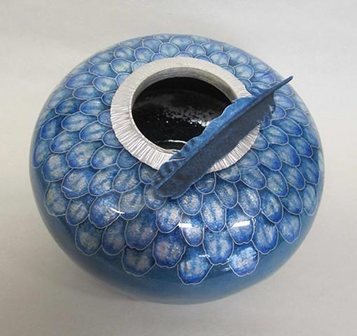 Blue Jay Vessel #3 (a)