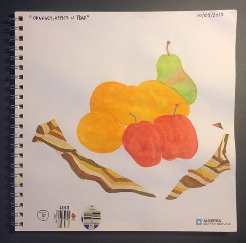 """Oranges, Apples n Pear"""