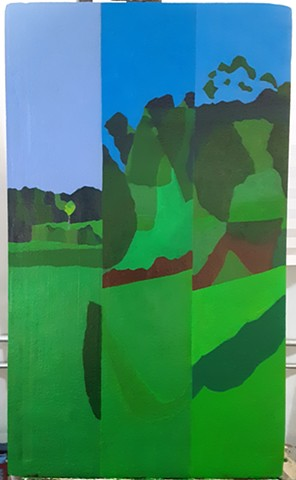 """Green Pastures IV"""